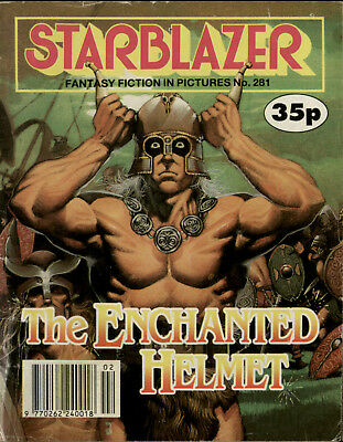 The Enchanted Helmet, Starblazer Fantasy Fiction Adventure In Pictures,no.281