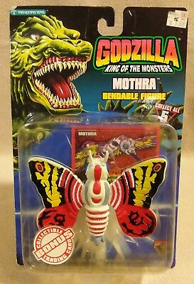 "Godzilla King of the Monsters ""Mothra"" 4"" Action Figure by Trendmasters 1994"