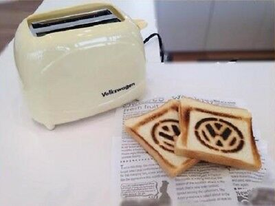 Volkswagen Toaster Ivory VW with BOX Original Limited Interior Very RARE New