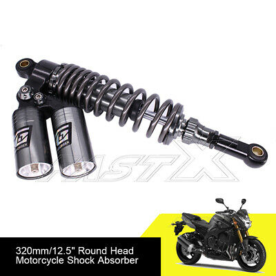 "360mm 14.2"" Dual Cylinder Motorcycle Rear Air Shock Absorbers or BMW Titanium 6#"