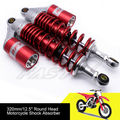 "320mm 12.6"" Motorcycle Rear Air Shock Absorbers For BMW Kawasaki Yamaha Red 1#"