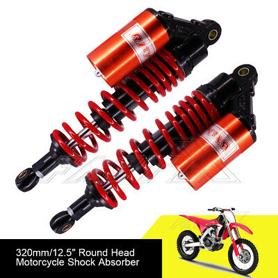 "320mm 12.6"" Motorcycle Rear Air Shock Absorbers For BMW KTM Yamaha Red Black 1#"