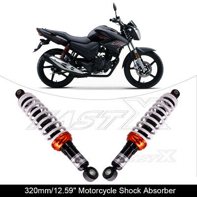 "320mm 12.6"" Motorcycle Rear Shock Absorber Suspension For Suzuki Ducati White 3#"