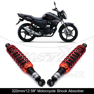 "320mm 12.6"" Motorcycle Rear Shock Absorber Suspension For Suzuki Ducati Red 3#"