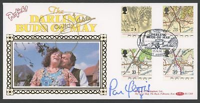 "1991 Ordnance Survey Illustrated ""Darling Buds Of May"" First Day Cover Personall"