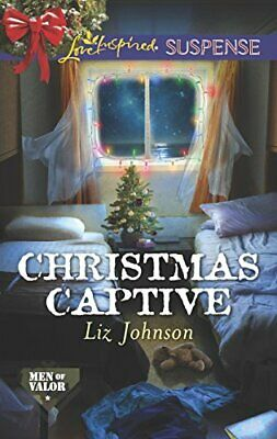 Christmas Captive (Men of Valor) by Johnson, Liz Book The Cheap Fast Free Post