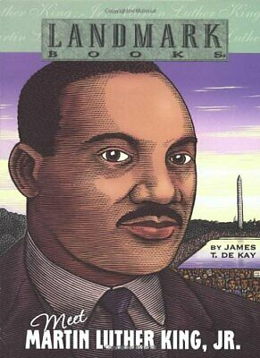 Meet Martin Luther King, Jr (Landmark Books) by de Kay, James T. Paperback Book