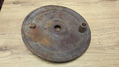 Triumph Trw T100 Tr5 6T Rear Brake Plate Pre Unit Rigid Models 37-0762 W762