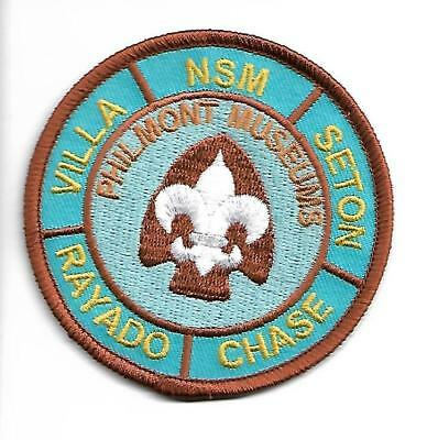 Philmont Scout Ranch Museums * 3 Inch Patch * New