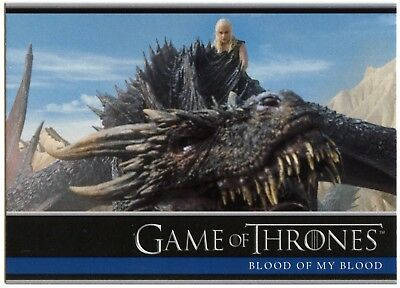 Blood Of My Blood #18 Game Of Thrones Season 6 Rittenhouse 2017 Trade Card C2279