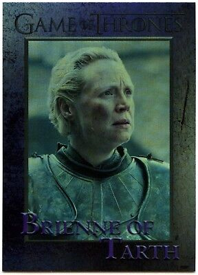 Brienne Of Tarth #49 Game Of Thrones S6 Rittenhouse Foil Parallel Card (C2280)