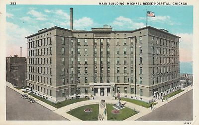 1929 Main Building Michael Reese Hospital CHICAGO IL ILLINOIS WB