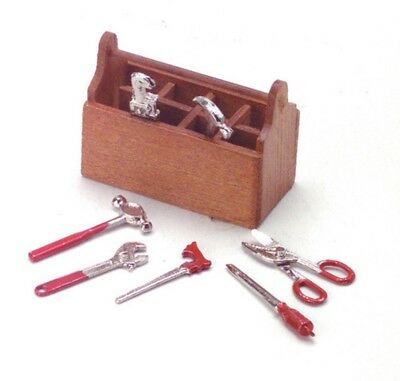 Darice Timeless Minis Tool Box with Tools, Assorted Sizes, Pkg of 3 Sets#2309-04