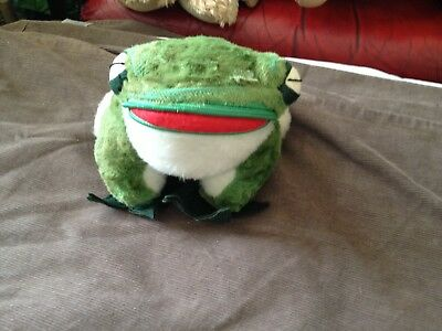 vintage MERRYTHOUGHT toy frog