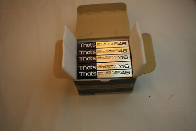SUONO 46 TYPE IV METAL That's ONE BOX (5 tapes)