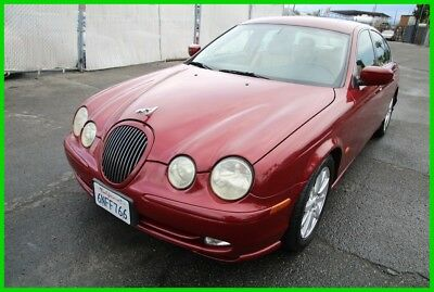 2002 Jaguar S-Type 4.0L V8 2002 Jaguar S-Type Automatic 8 Cylinder NO RESERVE