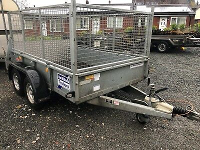 Ifor Williams GD85MK3 2700kg Twin axle General purpose trailer with mesh sides