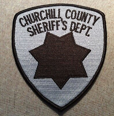 NV Churchill County Nevada Sheriff Patch