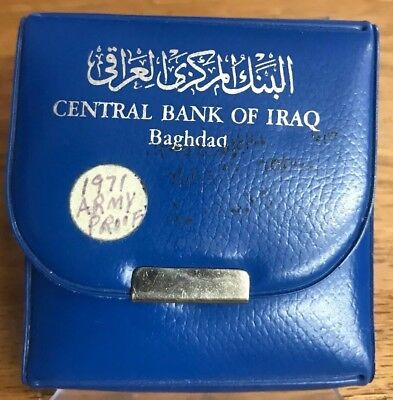 Rare 1971 Army Force Central Bank Of IRAQ