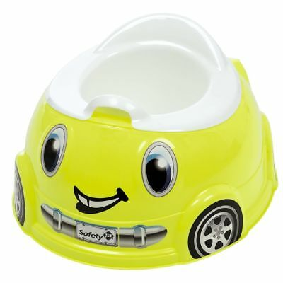 Safety 1st Car Potty Trainer Fast and Finished Lime Toddler Seat 32110143