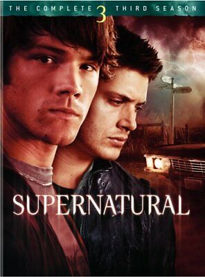 SUPERNATURAL SEASON 3 New Sealed 5 DVD Set