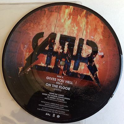 "The All-American Rejects Limited Promo 7"" Vinyl Picture Disc Gives You Hell"