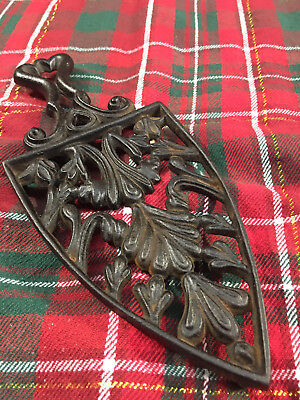 Antique  Cast Iron Footed Trivet