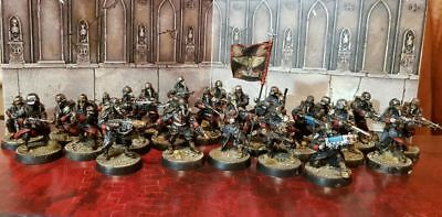 Death Korps of Krieg Infantry & command squad painted super pack Warhammer 40k