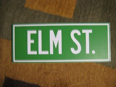 Bam Box Horror Nightmare on Elm Street Road Sign Prop Replica