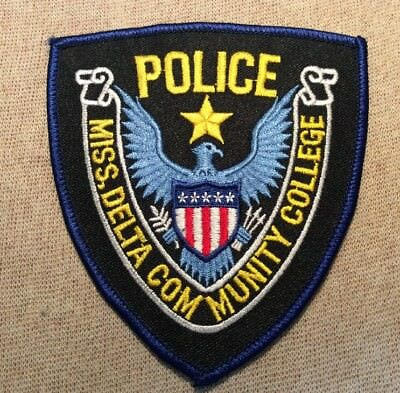 MS Mississippi Delta Community College Police Patch