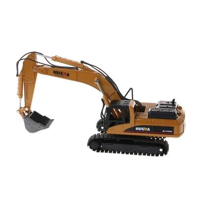 1/50 Scale Diecast Crawler Excavator Metal Alloy Construction Vehicle Models Toy