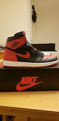 low priced f0340 e3126 NIKE JORDAN 1 One Retro High Homage To Home Size 10 StockX ...