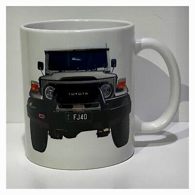 Landcruiser FJ40 Cruiser 4WD Toyota Coffee Tea Cup Mug Ceramic 325ml / 11oz Bulk