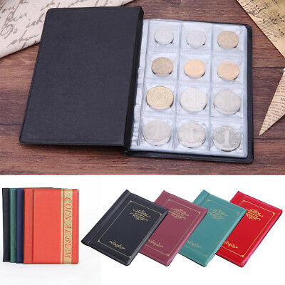 120 Album Coin Penny Money Storage Book Case Folder Holder Collection 2 Style AU