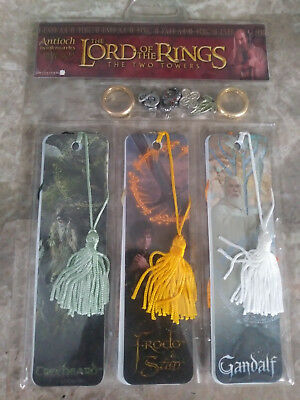 Lord of the Rings - The Two Towers Set of 6 Bookmarks (see description)