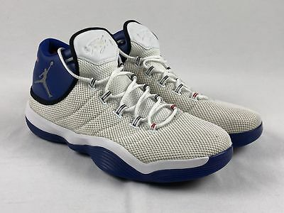 3ef3eea29d2a NEW JORDAN BLAKE Griffin Promo - White Blue Basketball Shoes (Men s ...