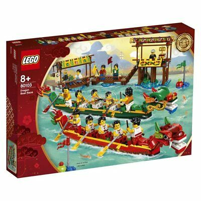 Lego 2019 Dragon Festival Boat Race 80103 Chinese Exclusive New Brick