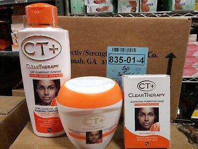 clear therapy set for women