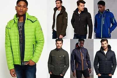 New Mens Superdry Jackets4 Selection - Various Styles & Colours 181218