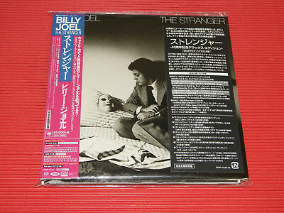 BILLY JOEL STRANGER THE 40TH ANNIVERSARY JAPAN 5.1ch Hybrid SACD EP SIZE SLEEVE