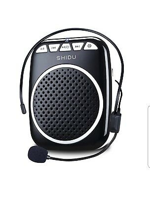 Wireless Voice Amplifier for Teaching Guiding Speaker Headset Microphone