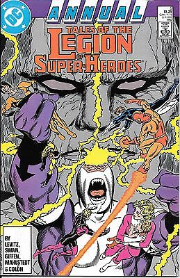 DC Tales of the Legion of Super Heroes Annual 5  1987    Darkseid