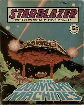 The Doomsday Machines,starblazer Space Fiction Adventure In Pictures,no.20,1980
