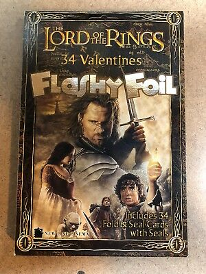 The LORD of the RINGS - 34 Valentine Cards & Seals 2004