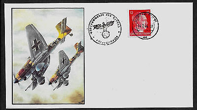 Luftwaffe Collector's Envelope with genuine 1941 Hitler Postage Stamp *R599