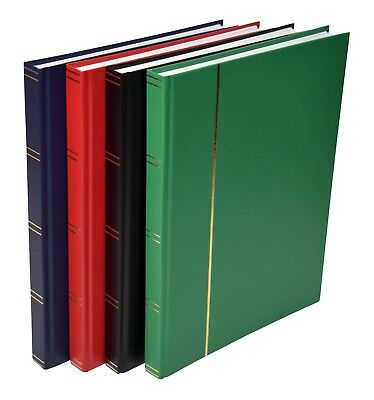 A4 Stock book Stamp Album With 16 White Pages - Retail £13.95 - SALE £4.95+