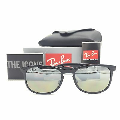 6966795434 Ray-Ban RB4263 601 5J Chromance Black Sunglasses W  Silver Polarized Lens  55mm
