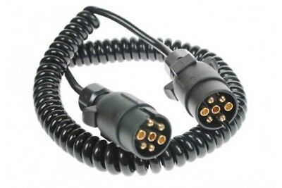 MP5884 Connecting Lead Curly 3M 12N 2x7Pin Plugs