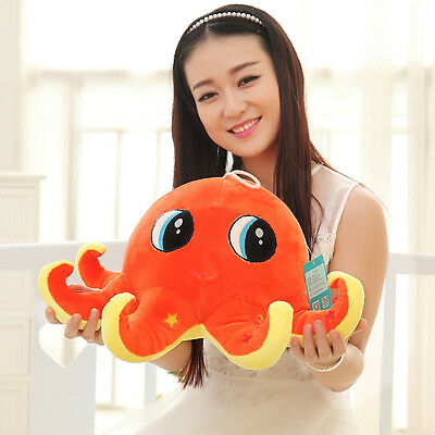 60CM Big Cute Plush Toy Octopus Stuffed Animal Soft Plushies Doll Pillow *