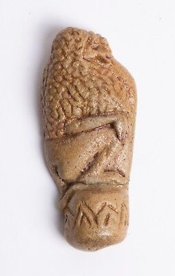 Ancient Egyptian Faience Baboon Amulet c.715-300 BC.
